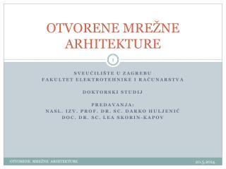 OTVORENE MRE�NE ARHITEKTURE