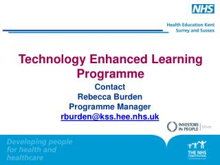 Technology Enhanced Learning Programme