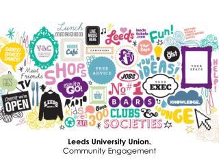 Leeds University Union. Community Engagement