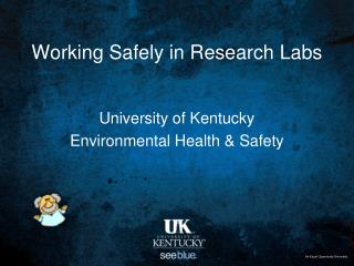 Working Safely in Research Labs