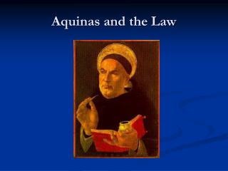 Aquinas and the Law