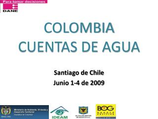 COLOMBIA  CUENTAS DE AGUA