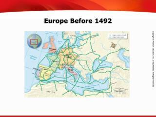 Europe Before 1492