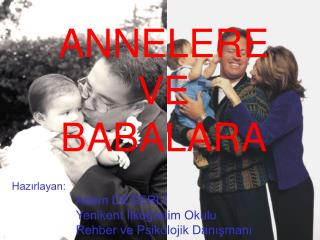 ANNELERE  VE  BABALARA