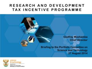 RESEARCH AND DEVELOPMENT TAX INCENTIVE PROGRAMME