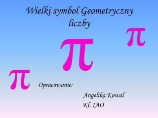Wielki symbol Geometryczny liczby