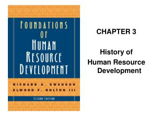 CHAPTER 3 History of Human Resource Development