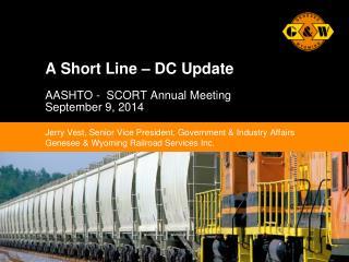 A Short Line – DC Update