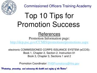 Top 10 Tips for Promotion Success