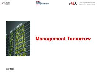 Management  Tomorrow