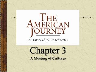 Chapter 3 A Meeting of Cultures