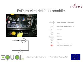 FAD en  lectricit  automobile.