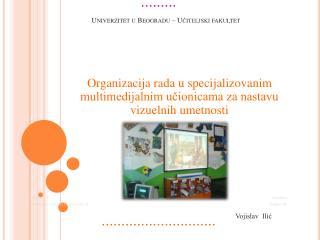 Univerzitet u Beogradu – Učiteljski fakultet