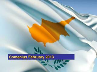 Comenius February 2013