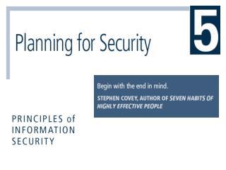 Enterprise Information Security Policy EISP