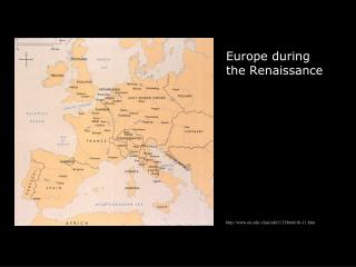 Europe during the Renaissance ou./class/ahi1113/html/ch-11.htm