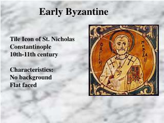 Early Byzantine