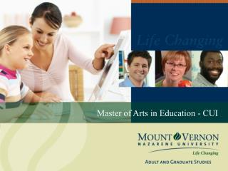 Master of Arts in Education - CUI