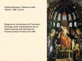 Andrea Mantegna,  Madonna della Vittoria , 1496, Louvre