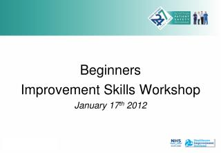 Beginners  Improvement Skills Workshop January 17 th  2012