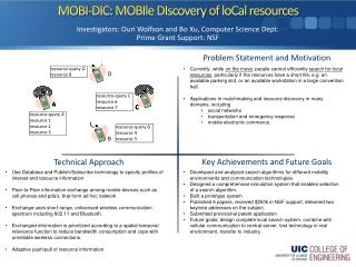 MOBI-DIC:  MOBIle DIscovery  of  loCal  resources
