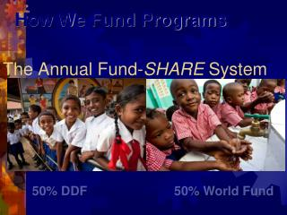 The Annual Fund- SHARE  System