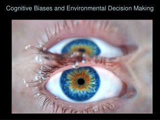 Cognitive Biases and Environmental Decision Making