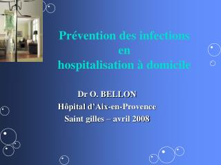 Pr vention des infections  en  hospitalisation   domicile