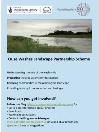 Ouse Washes Landscape Partnership Scheme