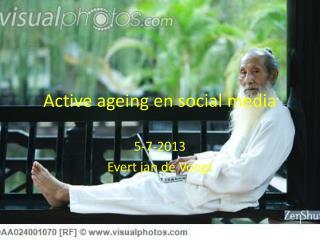 Active  ageing  en  social  media