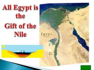 All Egypt is the  Gift of the Nile