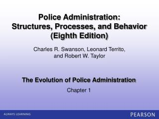 The Evolution of Police Administration