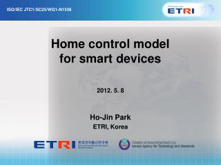 Home control model for smart devices