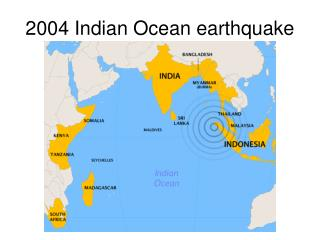 2004 Indian Ocean earthquake