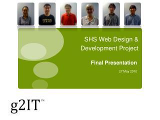 SHS Web Design & Development Project