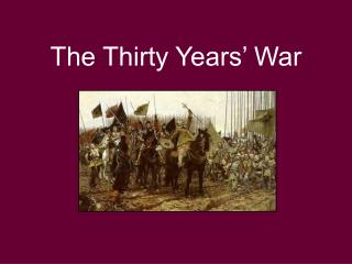 The Thirty Years' War