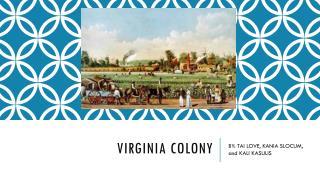 Virginia COLONY