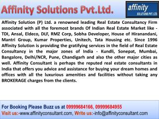 Enquire for TDI Projects Kundli 09999684955 TDI Apartments K