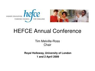 HEFCE Annual Conference