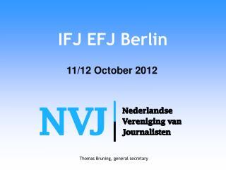 IFJ EFJ Berlin