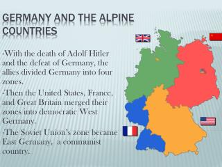 Germany and the Alpine Countries