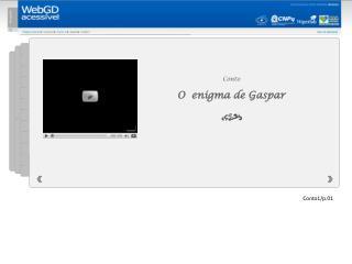 Conto  O   enigma de Gaspar