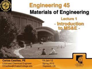 Materials of Engineering