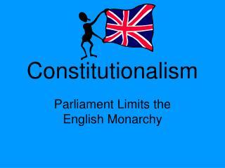 Constitutionalism