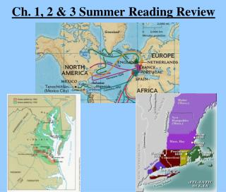 Ch. 1, 2 & 3 Summer Reading Review