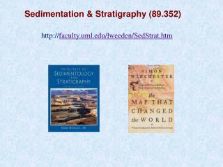 Sedimentation & Stratigraphy (89.352)