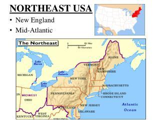 NORTHEAST USA