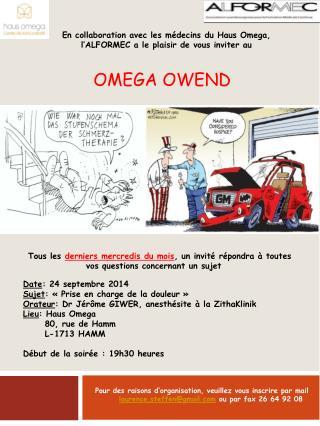 Omega  Owend