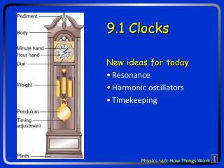 9.1 Clocks