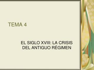 TEMA 4